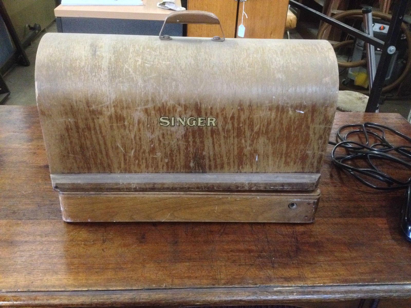 Vintage Singer Sewing Machine Melbourne | Halsey Road Recyclers