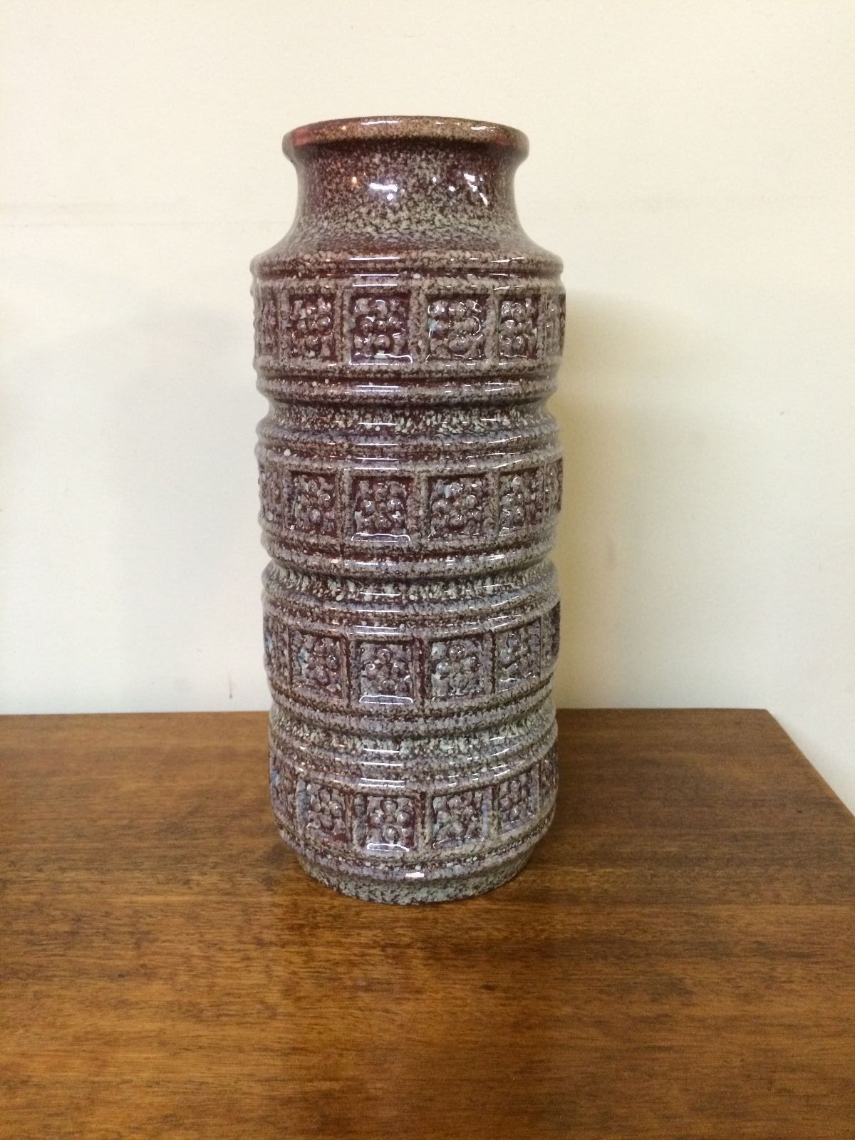 Vintage Retro Scheurich West German Pottery Vase | Melbourne | Halsey Road Recyclers