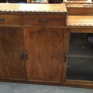 Antique Art Deco 2 Tier Sideboard Buffet | Melbourne | Halsey Road Recyclers