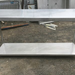 Commercial Stainless Steel Table Bench | Melbourne | Halsey Road Recyclers