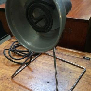 Industrial Vintage Infra Red Heat Lamp By Giseal In Working Order | Melbourne | Halsey Road Recyclers