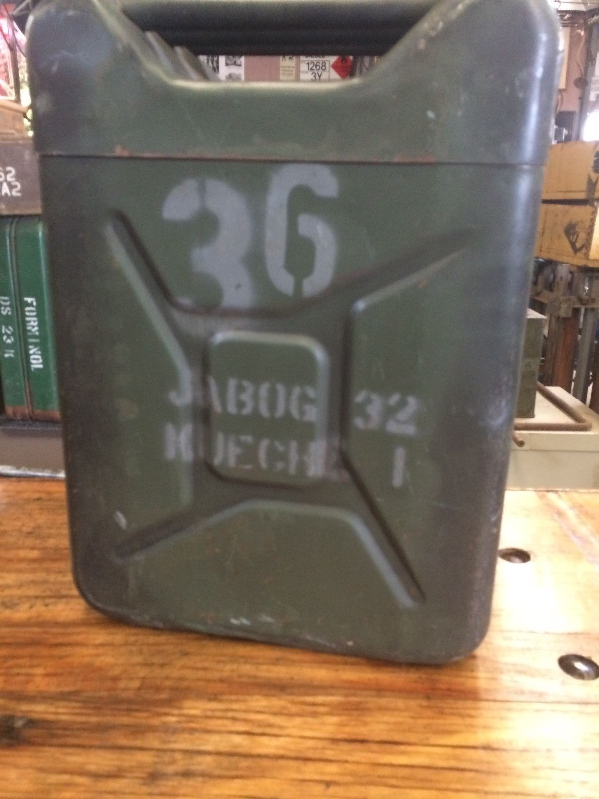 Vintage Army Military 1961 Insulated Food Container Storage Metal Box | Melbourne | Halsey Road Recyclers