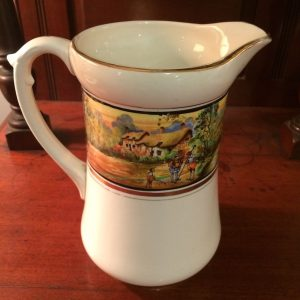 Vintage Large Coaching Jug Pitcher   Melbourne   Halsey Road Recyclers