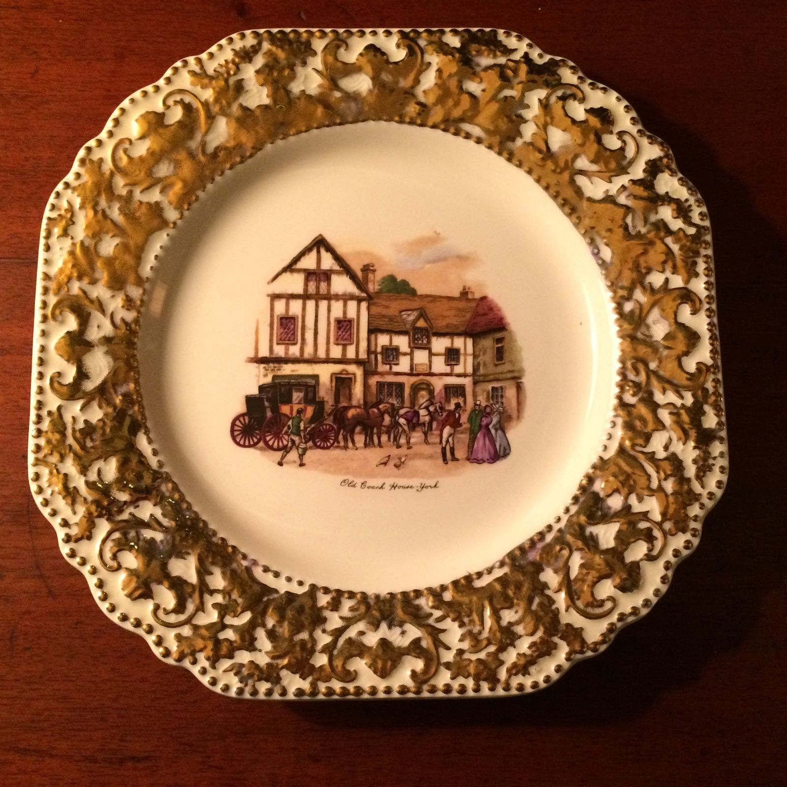 Vintage Liverpool Rd Pottery Ltd Stoke On Trent Wall Plate ...