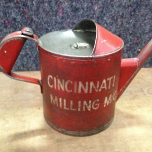 Vintage Cincinnati Milling M:C Oil Can | Halsey Road Recyclers