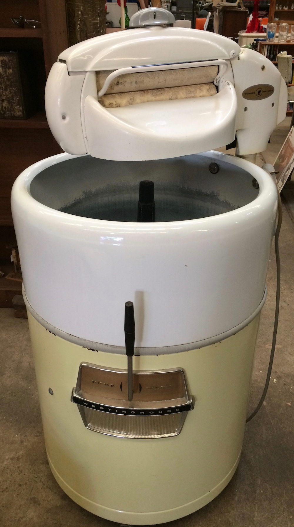 Vintage Westinghouse Wringer Washer With Instruction