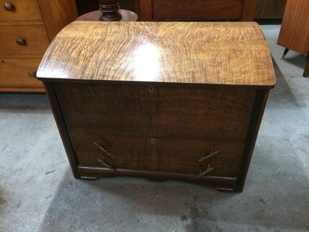 Antique Art Deco Chest Trunk| Melbourne | Halsey Road Recyclers