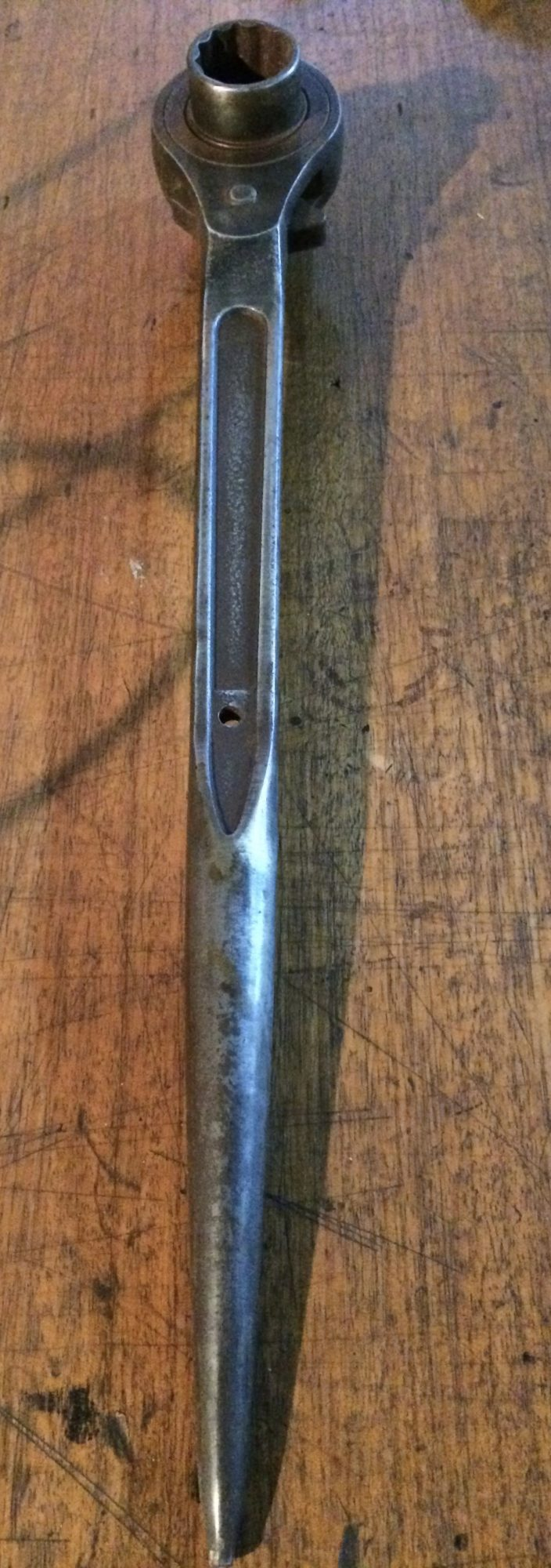 Vintage Riggers Scaffold Ratchet Podger