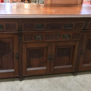 Antique Art Nouveau Sideboard|Melbourne|Halsey Road Recyclers