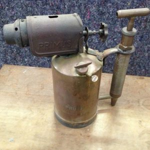 Antique Brass Primus Blow Torch | Melbourne | Halsey Road Recyclers