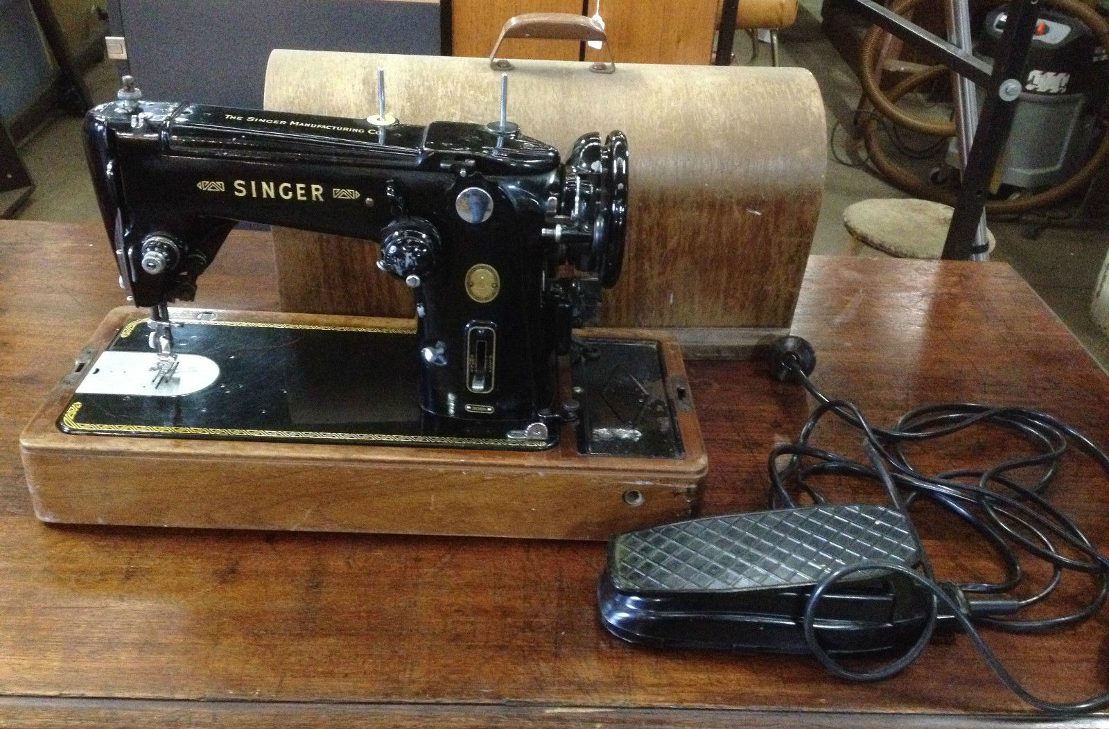 Antique Vintage Singer Sewing Machine Melbourne | Halsey ...