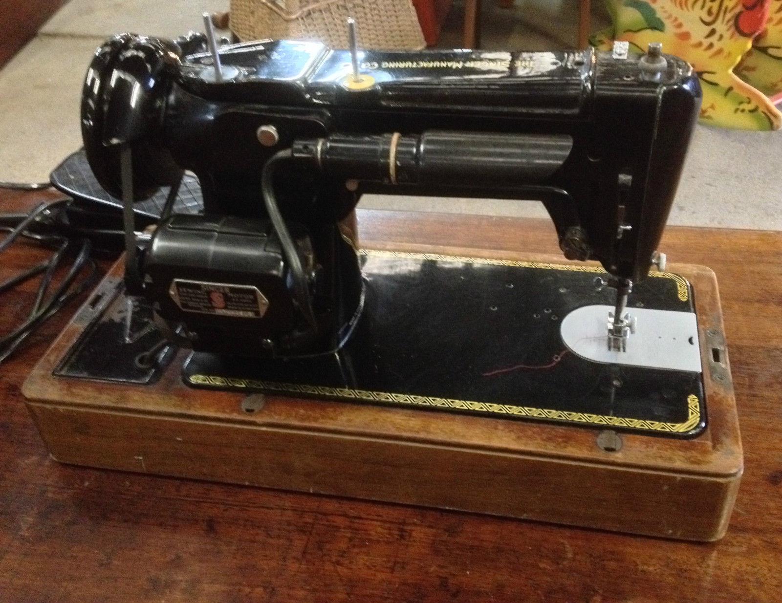 Vintage Singer Sewing Machine Melbourne   Halsey Road Recyclers