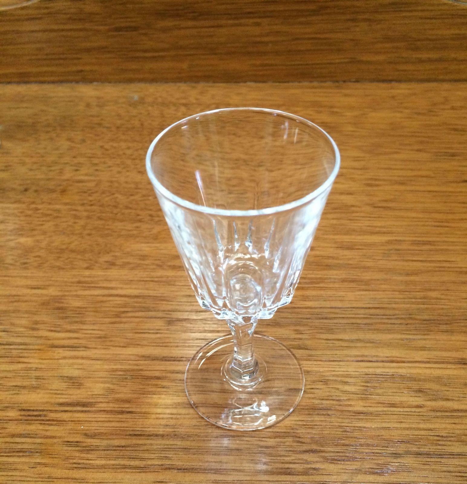 Set Of 6 Vintage Crystal Port Glasses   Melbourne   Halsey Road Recyclers