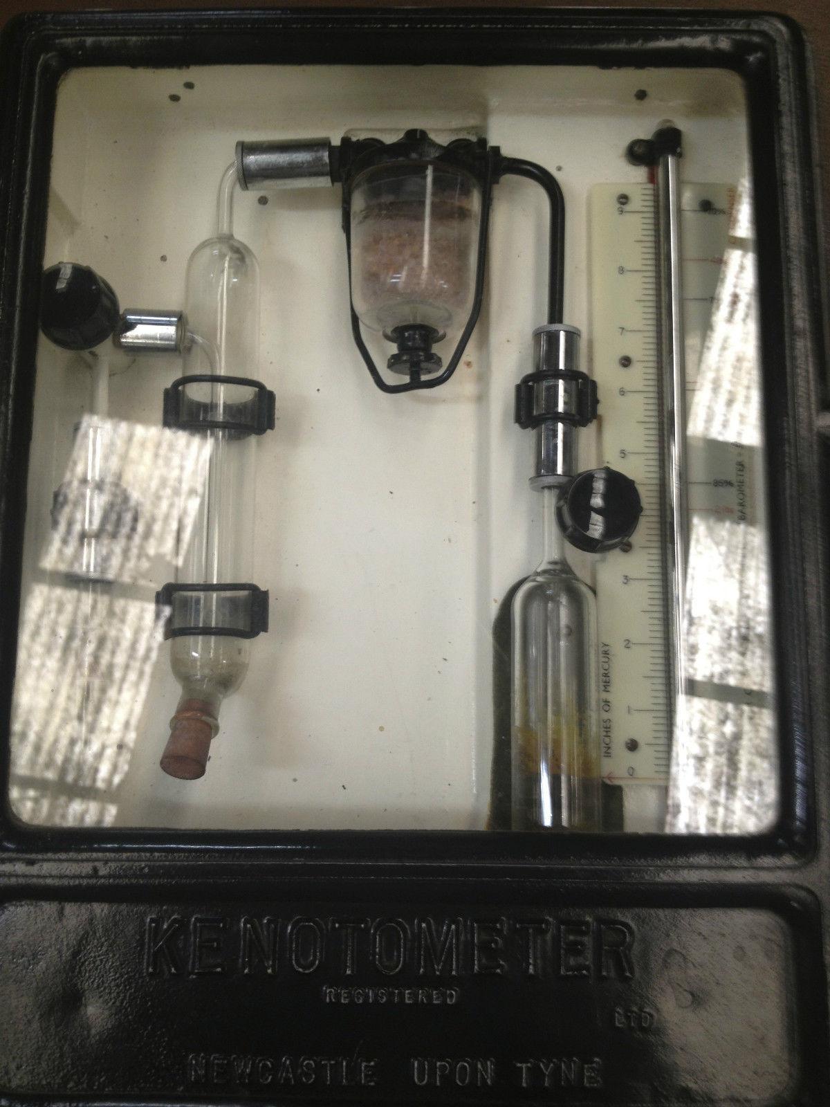 Vintage Industrial Kenotometer Newcastle Upon Tyne | Melbourne | Halsey Road Recyclers