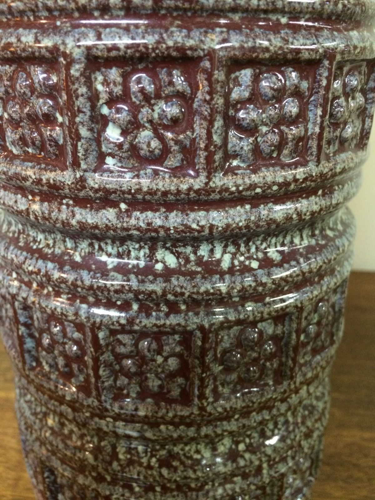 Vintage Retro Scheurich West German Pottery Vase | Melbourne | Halsey Road Recyclers