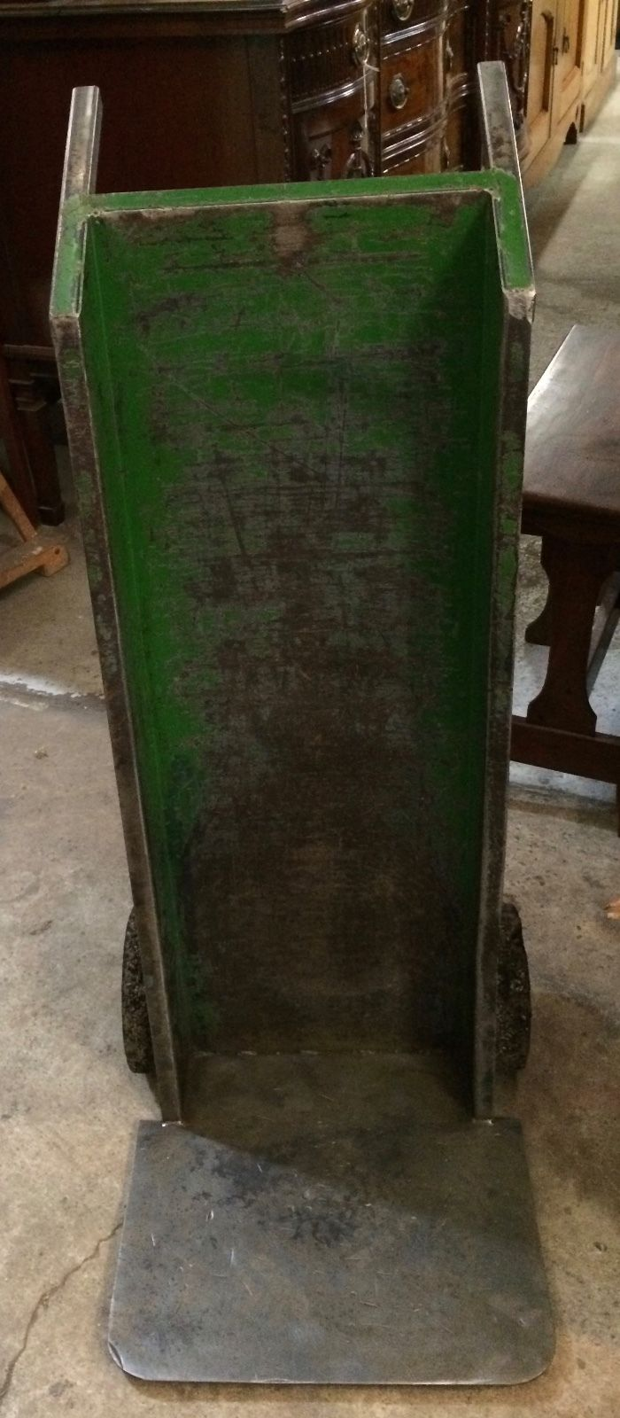 Vintage Industrial Warehouse Metal Trolley   Melbourne   Halsey Road Recyclers