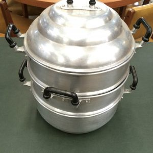 Vintage Aluminium Steamer Cooker Golden Cup Brand | Melbourne | Halsey Road Recyclers