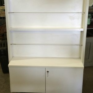 Library Catalogue Brochure Display Book Shelf Trolley Cabinet On Castor Wheels | Melbourne | Halsey Road Recyclers