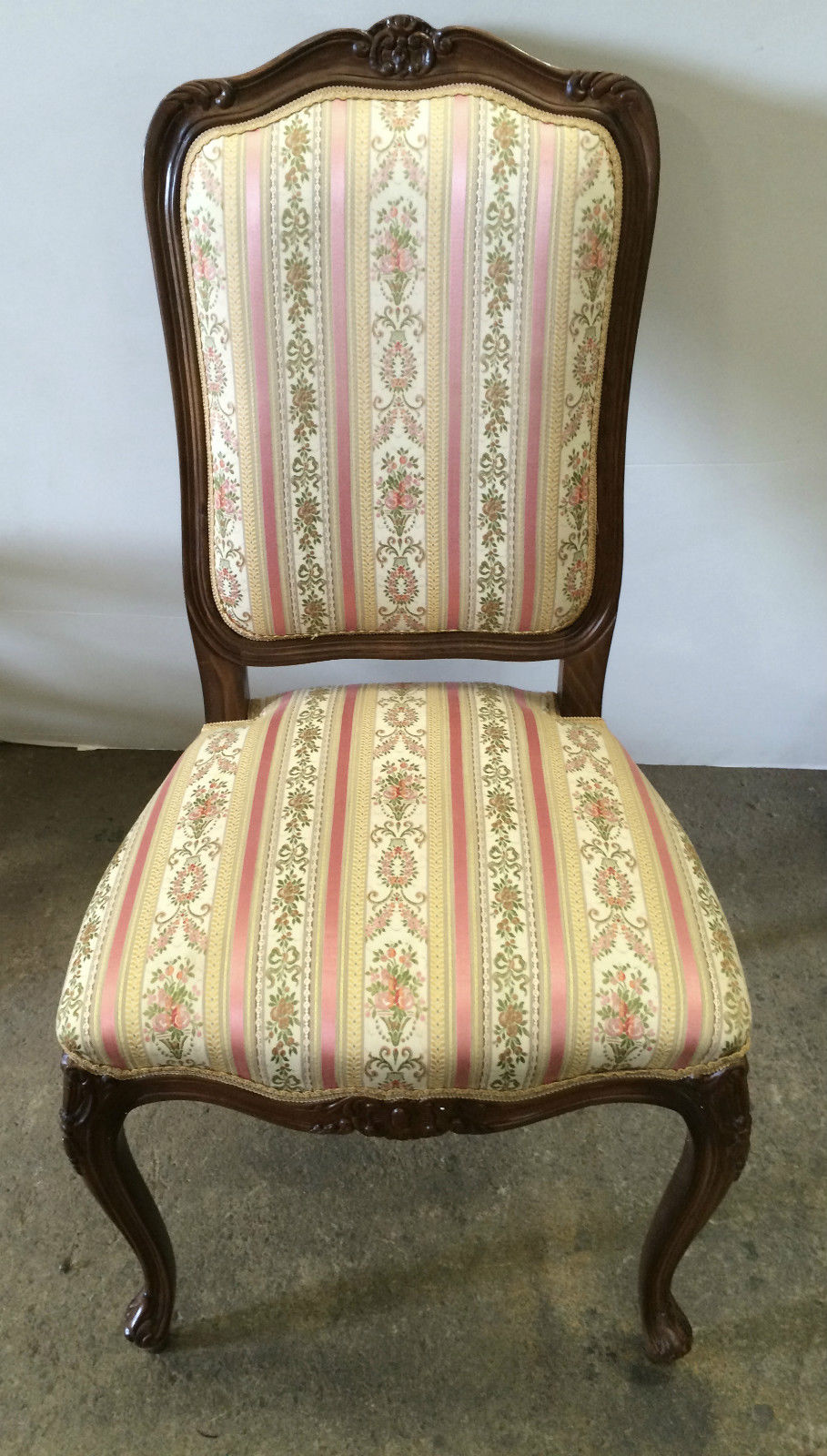 Set Of 6 Antique Reproduction Carver Dining Chairs On Cabriole Legs | Melbourne | Halsey Road Recyclers