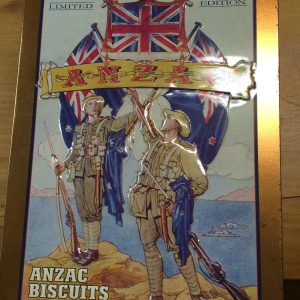 Anzac Limited Edition Biscuit Tin The Rsl And Rnzrsa Story   Halsey Road Recyclers