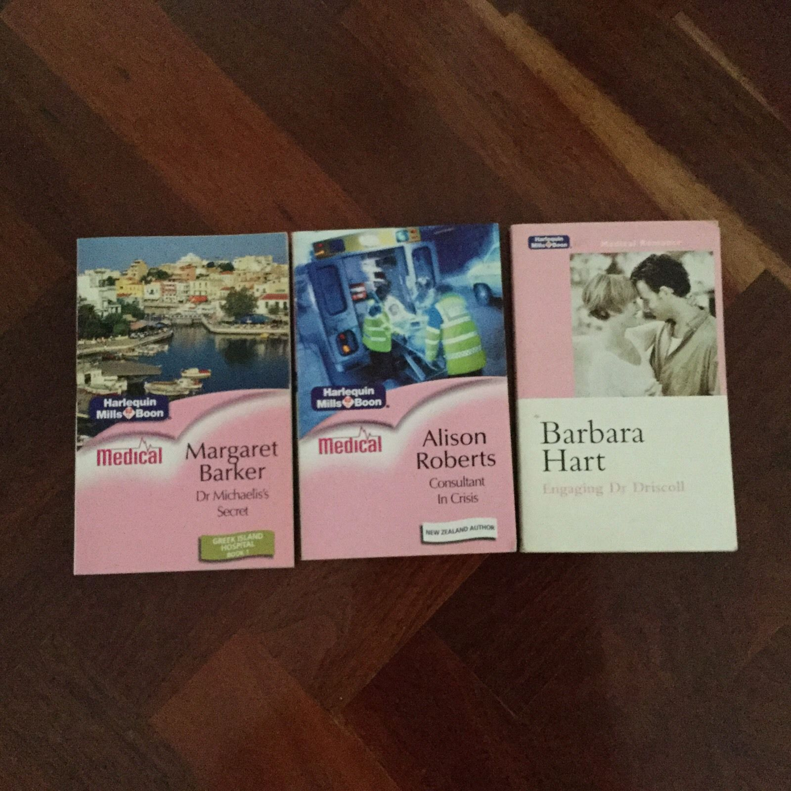 Lot Of 3 Harlequin Mills & Boon Medical Romance | Halsey Road Recyclers