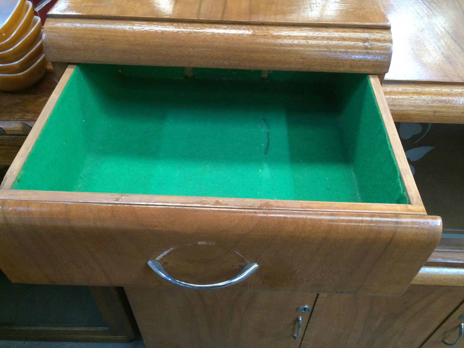 Vintage 2 Tier Sideboard Buffet Display Cabinet | Halsey Road Recyclers