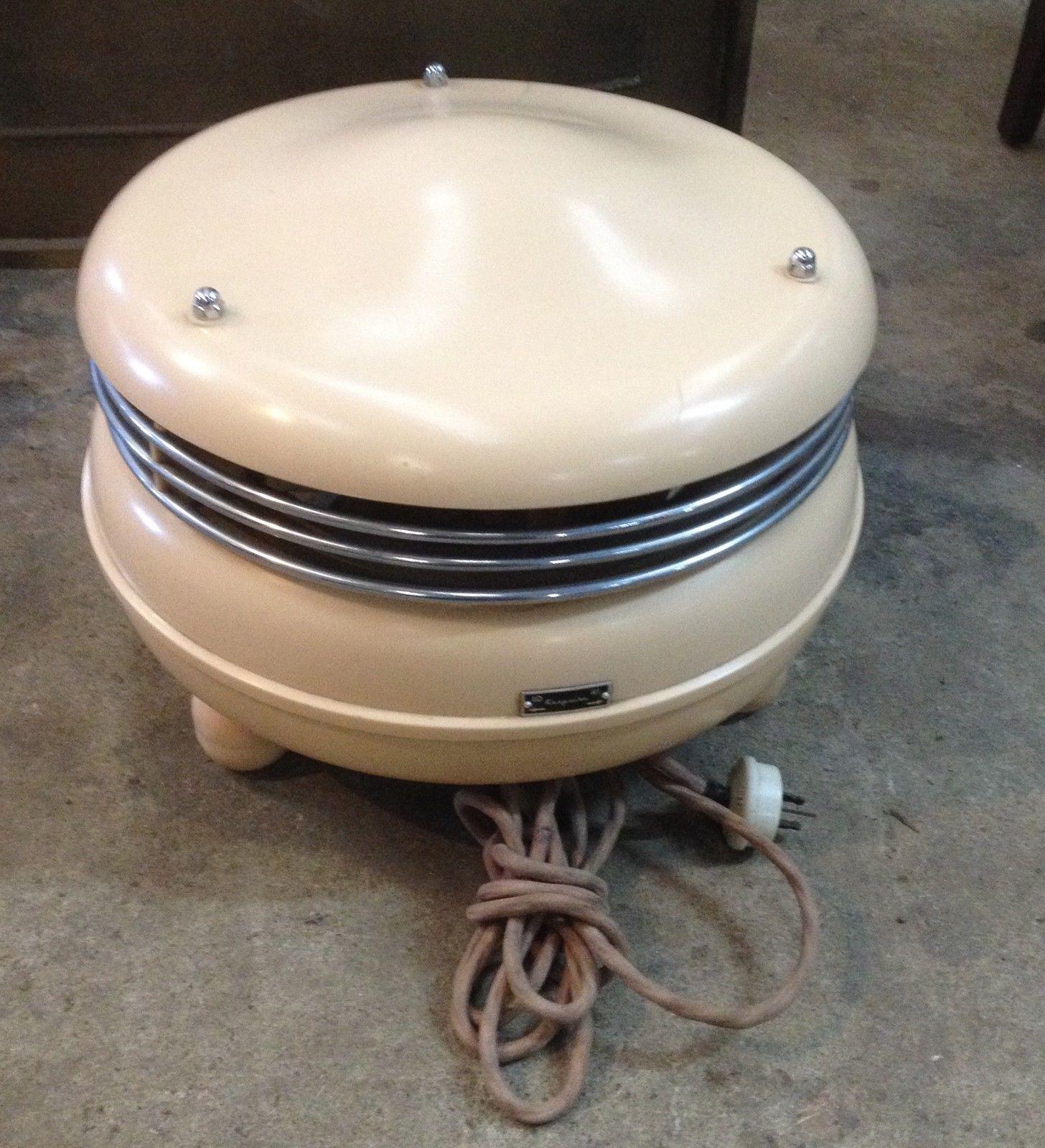 Vintage Art Deco Retro Bakelite Kasyaire Circular Heater On Three Feet Works   Halsey Road Recyclers