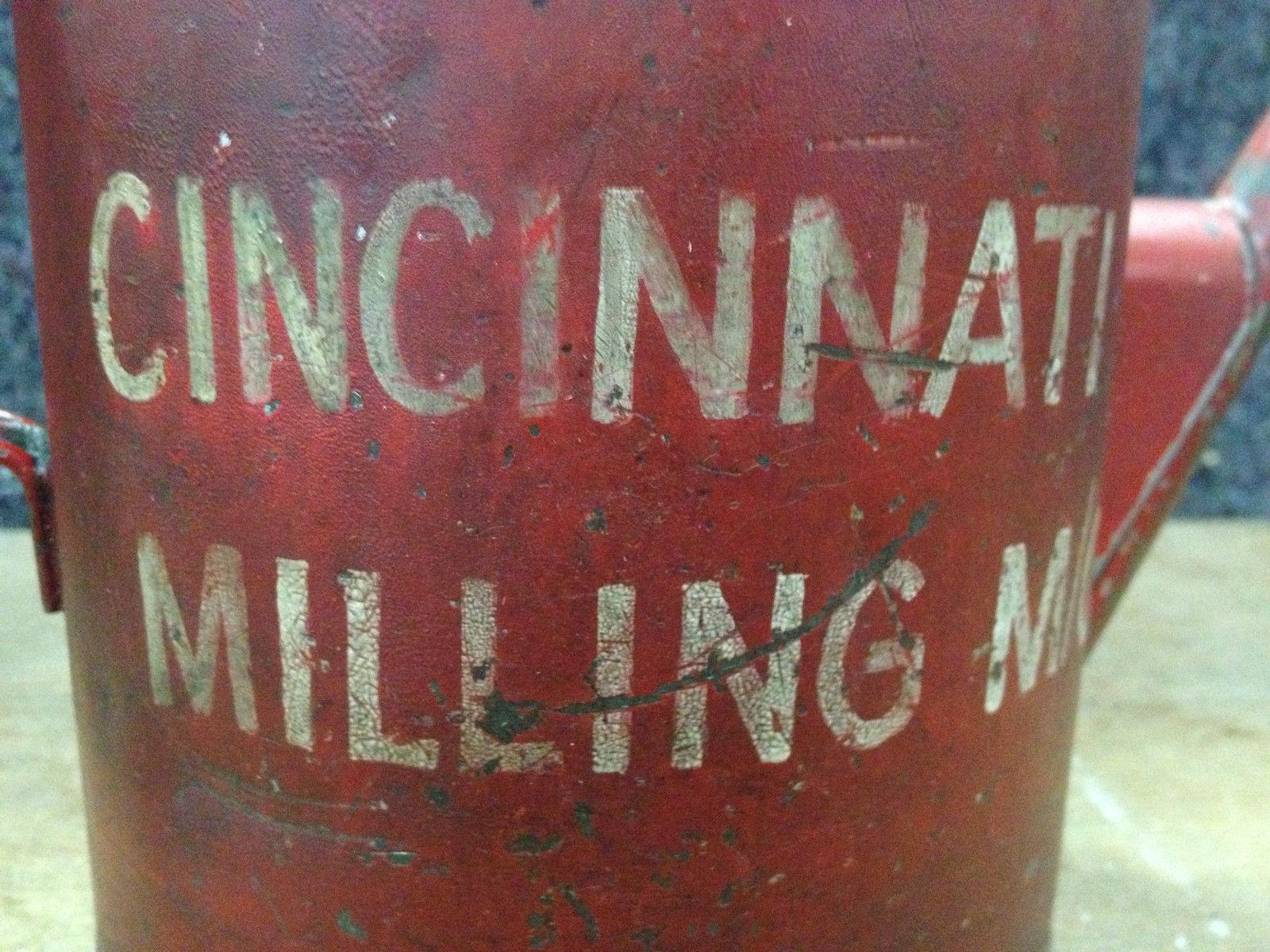 Vintage Cincinnati Milling M:C Oil Can   Halsey Road Recyclers
