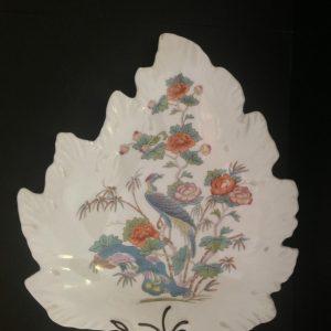 Wedgewood Kutani Crane Leaf Dish | Halsey Road Recyclers