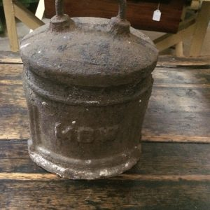 Vintage Antique Cast Iron MBW Water Meter Cover| Melbourne | Halsey Road Recyclers