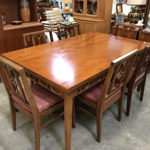 Avalon Retro Vintage Danish Design Teak Extendable Dining Table | Melbourne | Halsey Road recyclers